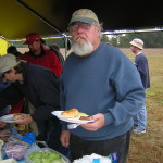 20041024-desshlg-10-dennychow-og: Denny in the chow line, looking positively suprised Photo from http://olgol.com/contest/pics