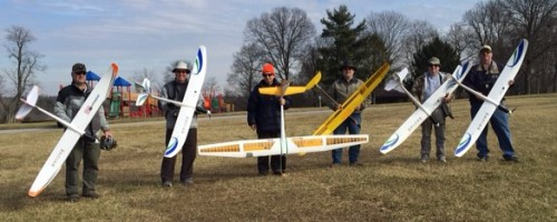 Photo from our first club fly, February